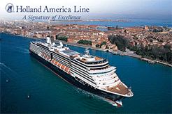 Время морских круизов с Holland American Line