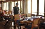 RV Bassac Pandaw. Ресторан