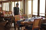 RV Orient Pandaw. Ресторан