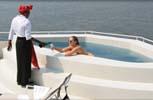 Zambezi Queen. Бассейн