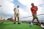 Carnival Elation. Mini Golf