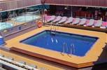 Carnival Glory. Azure Pool