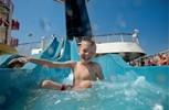 Carnival Glory. Turquoise Pool & Waterslide