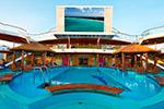 Carnival Sunshine. Lido Pool & Seaside Theater