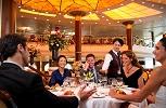 Celebrity Constellation. The San Marco Restaurant Upper Level