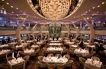 Celebrity Silhouette. Grand Cuvee Dining Room Upper Level