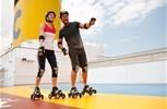 Costa Deliziosa. Roller Skating & Jogging Track