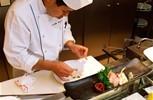 Crystal Serenity. The Sushi Bar & Silk Road Restaurant