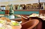 Crystal Serenity. Trident Bar & Grill Scoops Icecream Bar