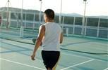 Crystal Serenity. Wimbledon Tennis Court