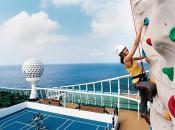 Jewel Of The Seas. Rock-Climbing Wall