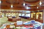 P & O Arcadia. Library