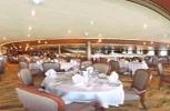 P & O Arcadia. Meridian Restaurant Upper Level