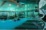 P & O Oceana. Gymnasium