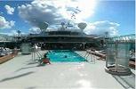P & O Oceana. Riviera Pool