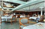 P & O Oriana. The Peninsular Restaurant