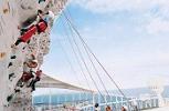 Vision Of The Seas. Rock-Climbing Wall